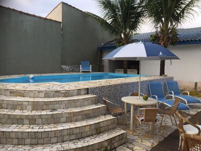 Photo for HOUSE WITH POOL, 4 SUITES 3 blocks from the BEACH