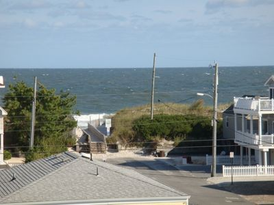 OCEAN VIEW FROM LARGE ROOF DECK