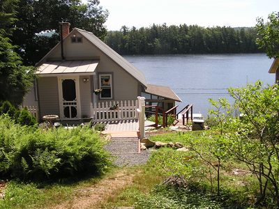 Photo for Victorian Lakefront Cottage With Spectacular Sunrise View Of Water