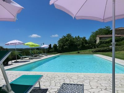 Photo for One bedroom Villa, sleeps 2 in San Marziale with Pool and WiFi