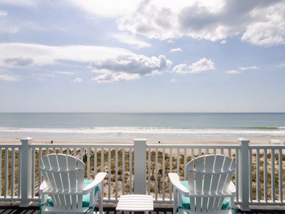 Photo for Enjoy the expansive long coastline views at this top floor oceanfront condo