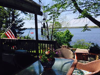 Photo for Pet Friendly Home RIght on White Lake!  Boat, tube, swim, fish, golf and more!!!