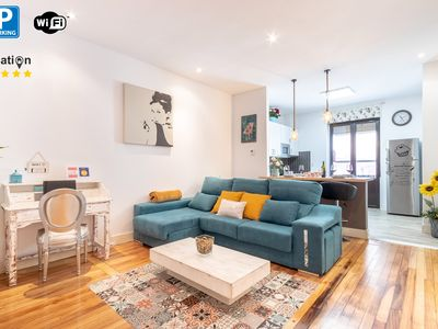Photo for ♥ ️Vintage Apartment next to Old Town with parking!