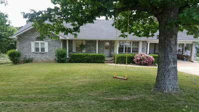Photo for Mountain Top Home Next Door to River Concessions & Kyles Landing!