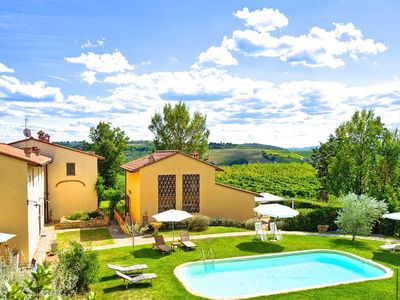 Photo for 2BR Villa Vacation Rental in Montespertoli, Tuscany