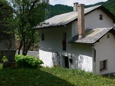 Photo for Beautifully restored stone cottage right on the edge of Triglav national park