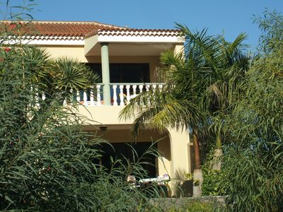 Photo for Quiet apartment with panoramic and sea views, pool, terrace, barbecue and parking