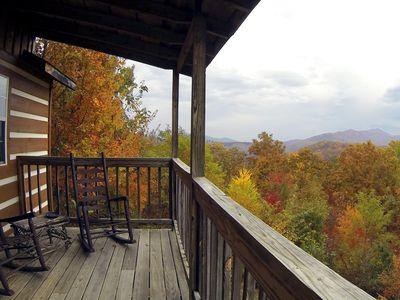 Photo for Mtn. Views & cozy! No clean fees or processing fees!