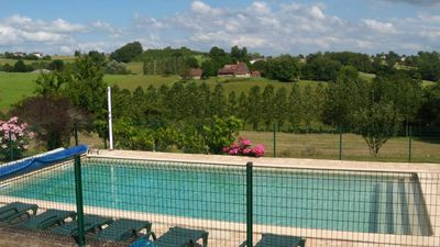 Photo for beautiful mansion with privat pool- BADEFOLS D'ANS