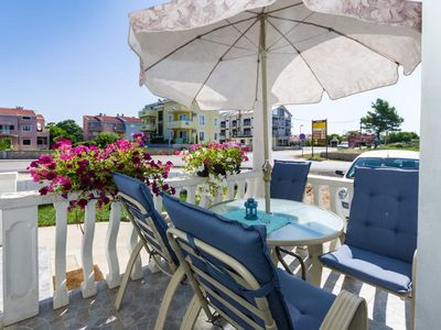 Photo for One bedroom apartment with terrace Zaton (Zadar)