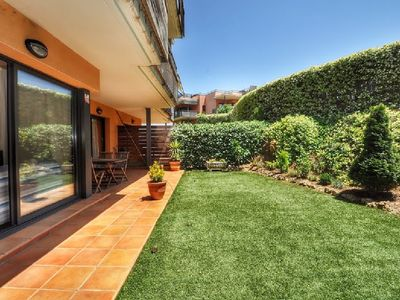 Photo for Sa Boadella. Apartment with garden