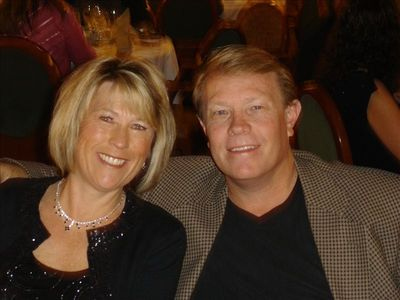 DR GRANT AND HIS WIFE JULIE