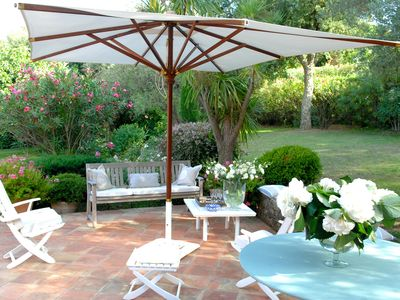 Photo for Stunning  villa near the centre of St Tropez ( 5 minutes Places des Lices)