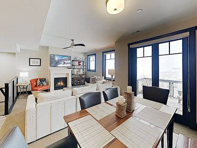 Photo for New Listing! Stylish Townhome w/ Hot Tub & Pool Access, 300 Yards to Ski Lift