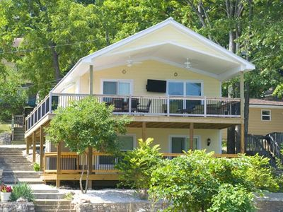 Photo for Brand New 3BR/2BA Lakefront Property, Includes Boat Slip