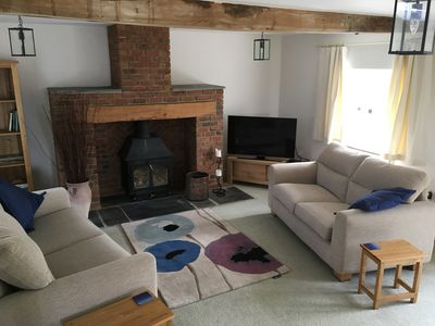 Photo for Beautiful converted 17th century stone stable in the heart of the Isle of Wight
