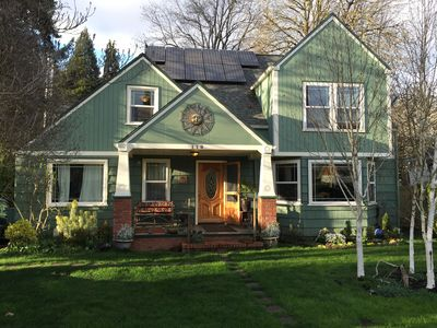 Photo for Unique, energy efficient home in Eugene 4.5 mi from University of Oregon.