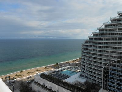 Photo for Beautiful condo located in the Q CLUB FORT LAUDERDALE BEACH RESORT. 911