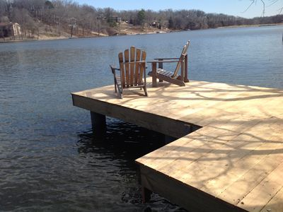 Photo for Family Fun on the lake!  Beautiful views, near bike trails and 6 golf courses.