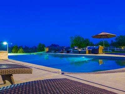 Photo for Elegant mansion with salt water pool & tennis court -inquire Dec-March specials
