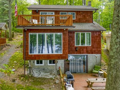 Photo for Beautiful 3 Level Lakefront w/ Private Dock, Sleeps 13!