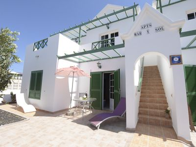Photo for Mar y Sol Apartment 1, with terrace, close to the sea
