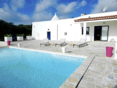 Photo for Trullo Camastra: relax among olive trees and private pool