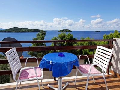 Photo for Studio flat near beach Prižba (Korčula) (AS-12648-a)