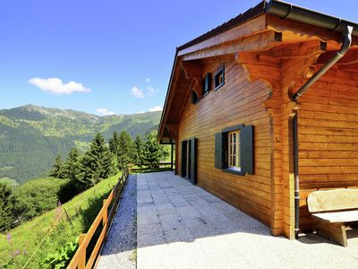 Photo for New upgraded comfort chalet directly on the ski slope, with sauna