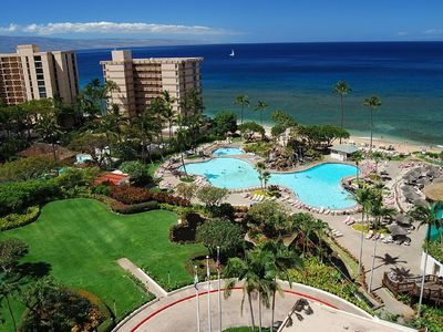 Photo for Top notch resort in the most desirable beach location in Maui