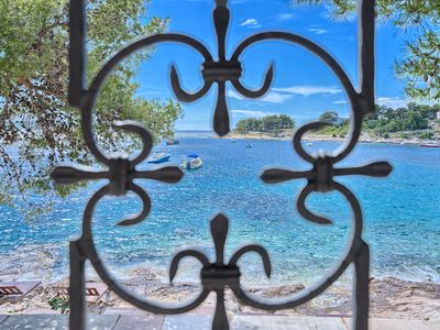 Photo for Charming beachfront villa Coral Bay Hvar on the seafront in Hvar town