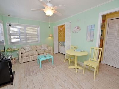 Photo for Sea Rocket 14 North Redington Beach NEWLY Decorated Ground Floor Efficiency