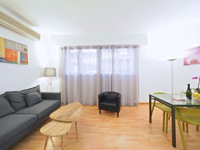 Photo for Apartment in Barcelona with Internet, Air conditioning, Lift (992241)
