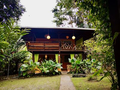 Photo for Gecko Big Garden house for families - House for 7 people in Cocles