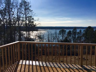 Photo for Greers Ferry Lake View Home 4BR, 2BA