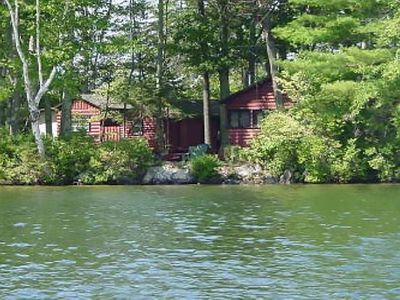 Photo for Have a WHOLE ISLAND to yourself on lake winni