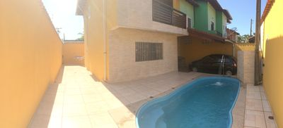 Photo for Beautiful house with heated pool in Bertioga - SP