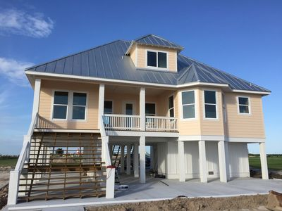 Photo for New Bayfront Home with New Private 300' Lighted Fishing Pier