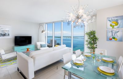 Photo for OVERLOOKING THE OCEAN, UNOBSTRUCTED VIEW, W RESIDENCES. FREE: POOL/SPA/GYM/WI-FI