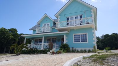 Photo for Gorgeous 4 bd 3.5 bath steps from 30 miles of undeveloped beaches and reefs!