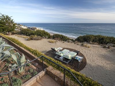 Photo for Beyond Epic Malibu Oceanfront Villa With Eclectic Luxury Interior, Infinity Pool