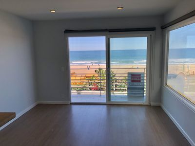 Photo for Wake Up at the Beach! Cute 1 Bedroom right on the Strand!