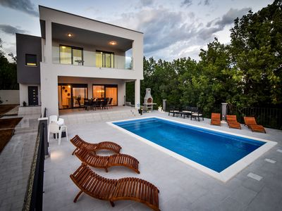 Photo for Great Villa Ivana 4* with pool and seaview