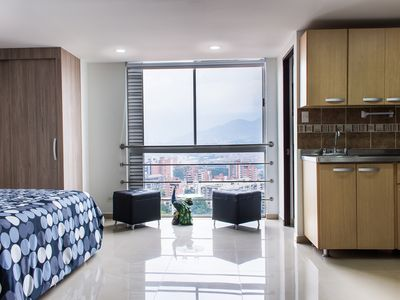 Photo for Poblado Luxurious Loft With Stunning Views