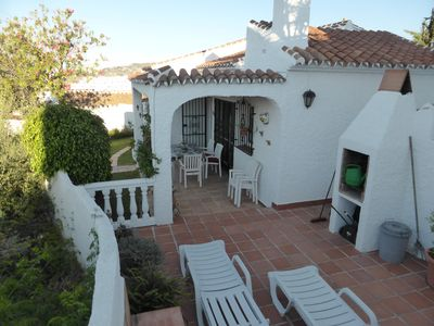 Photo for Detached Villa, Air Conditioned, sea views, quiet location, communal pool
