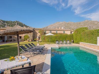 Photo for Villa Seguinot is a country house with air-conditong, wifi and private pool located in Pollensa, in