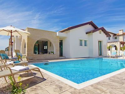 Photo for Ayia Thekla Holiday Home, Sleeps 6 with Pool, Air Con and WiFi
