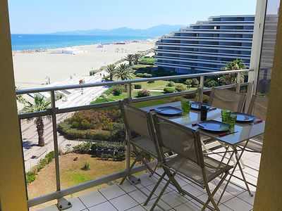 Photo for Apartment Le Beach in Canet-Plage - 4 persons, 1 bedrooms