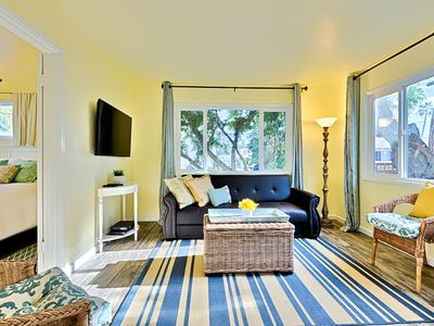 Photo for 20% OFF MAY - Beach Cottage,Steps to Ocean,Private Deck+Shared Spa
