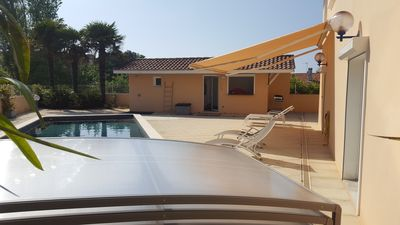 Photo for Villa with pool and beach on foot